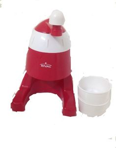 Rival Frozen Delights Manual Snow Cone Maker * Read more reviews of the product by visiting the link on the image.