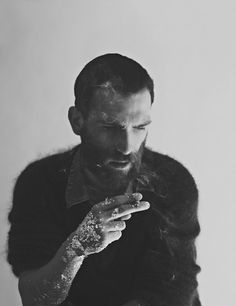 beards and cigarette