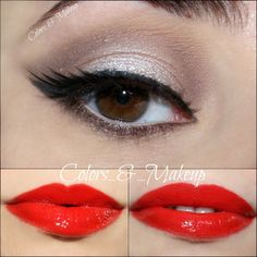 Nicole Miller - Chic Makeup  by Livia G. Click the pic to see the tutorial. #beauty #makeup #beautybasics
