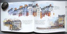 Paris Sketchbook by Fabrice Moireau