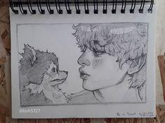 Likes, 81 Comments - Buhuhu Kpop Drawings, Cool Art Drawings, Art Drawings Sketches, Pencil Art Drawings, Beautiful Drawings, Pencil Sketch Art, Dark Souls Art, Drawing Expressions, Kpop Fanart