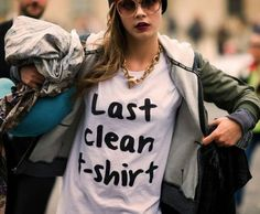 T-shirts with words: 25 funny and fancy designs for him and her