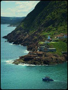 Fort Amherst, St. John's, Newfoundland - Canada