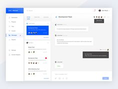 Messages View designed by Mandeep Kundu . Connect with them on Dribbble; the global community for designers and creative professionals. Web Dashboard, Ui Web, Dashboard Design, App Ui Design, User Interface Design, Wireframe Design, Enterprise Application, Software, Website Design Layout