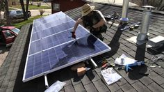 HOW TO INSTALL SOLAR PANELS DIY ARRAY ENPHASE MICROINVERTERS 1.47 KW SYS...