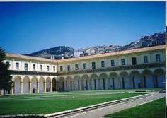Certosa di San Lorenzo a Padula - Veduta del chiostro