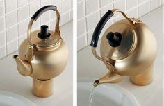 やかんのお水、召し上がれ ― カクダイのユニークな蛇口「Da Reyaアイキャッチ水栓」 - えんウチ