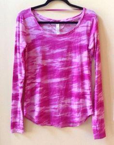 Nwt Under Armour Women's Multi-Color Cotton Blend Long Sleeve Athletic Top SZ M #UnderArmour #BaseLayers