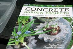 Concrete Garden Products Book