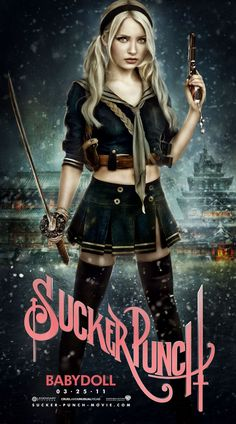 adored the costumes, make up, music & CGI in this movie! #Suckerpunch