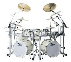 famous+pearl+drum+kits   Pearl Drum Set - Pearl Reference Series Drum Set