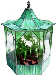 Image detail for -Stained Glass Terrarium at Lisa's Leaded Lights