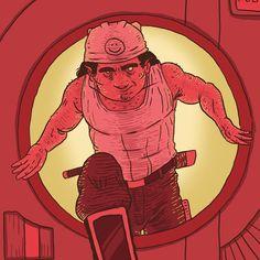 New page online #webcomic #digitalcomic #digitaldraw #digitalartist #digitalart #indieart #indiecomic #indieartist #door #red