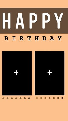 Happy Birthday Template, Happy Birthday Frame, Happy Birthday Posters, Happy Birthday Quotes For Friends, Happy Birthday Wallpaper, Birthday Posts, Creative Instagram Photo Ideas, Instagram Photo Editing, Instagram And Snapchat