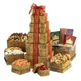 Broadway Basketeers Ultimate Mother's Day Gourmet Gift Tower (Grocery)By Broadway Basketeers