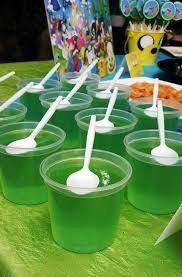 Image result for green jelly ladybug party food