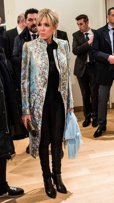 Brigitte Macron, being revolutionary.....