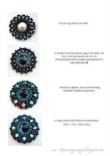 Tutorial Another Hungarian site w/ BEYOND beadwork!!! gorge!!