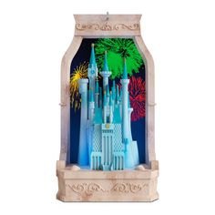 Cinderella's Castle From Disney Cinderella Musical Ornament With Light