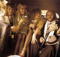ABBA - the cover of their epynomous record of 1975.  One of my favorite records of theirs.