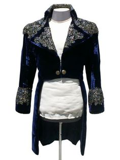 Couture Costumes & Corsetry. Mikey's outfit? (The Labyrinth-Jareth at the masked ball)