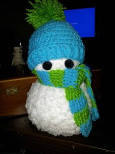 Crochet Snowman by storerboughtcreations