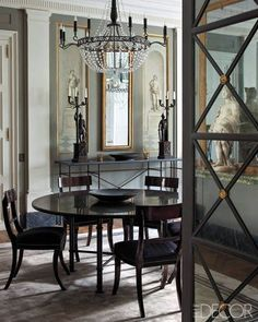 chic ~ I love Dinning Room Drama! I don't care for having a grand meal with drama, however!
