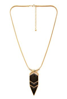 Geo Pendant Necklace | FOREVER21 - 1000060751