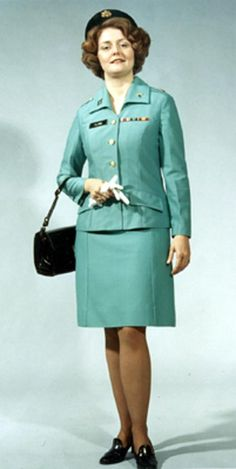 u.s. army women's mint green uniform | Class A Service and Dress From Uniforms From 1970's - 2000
