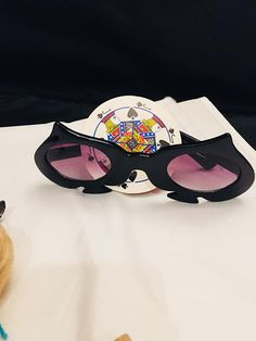 88e6d8f5090 Items similar to Novelty Sunglasses Halloween Costume Vintage Dr. Peepers  Eyewear on Etsy