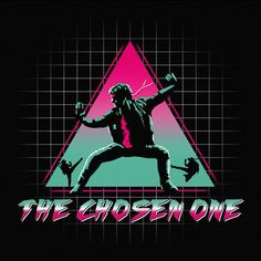 The Chosen One T-Shirt - Kung Fury T-Shirt is $12.99 today at Pop Up Tee! More