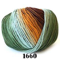 Schoppel Wolle Reggae Ombre Yarn 100% Merino Wool WW 109 yds