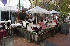 Trip Advisor comment: 'Cafe Mozart a lovely place just off the main road to have breakfast or lunch great food and lovely staff free wifi' Cape Town Tourism, Cape Town Hotels, Eclectic Cafe, Old Trees, Antique Market, Local Attractions, South Africa, Trip Advisor, Relax