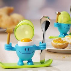 WMF 'Mr Egg' Egg Cup with Spoon. £8.50 #eggcups #kitchenaccessories #mrmen
