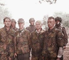 Captured SS troops at Arnhem. -
