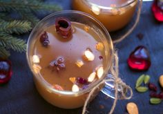 Varm eplegløgg Beverages, Drinks, Food Festival, Xmas, Christmas, Food And Drink, Pudding, Apple, Sweet