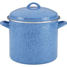 This generous and beautiful Paula Deen Signature Enamel on Steel 12 qt. Covered Stockpot offers both traditional and contemporary appeal.