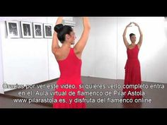 """Iniciación al Baile Flamenco """" Brazos y Manos """" - YouTube"""