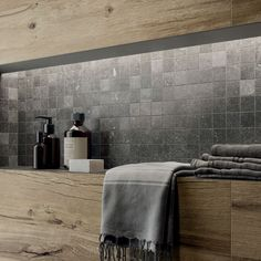 The porcelain stoneware collections for architects and designers Shops, Gold Wood, Rustic Chic, Porcelain Tile, Store Design, Custom Homes, Stoneware, Indoor, Interior Design