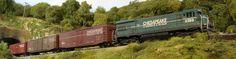My model RR club:  North Shore Model Railroad Club, Wakefield, MA