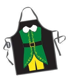 Take a look at this Elf Apron by ICUP Inc. on #zulily today!
