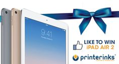 Excited to win an iPad Air 2?   Simply LIKE us on Facebook for a chance to win...Don't forget to SHARE for 5 bonus entries!