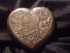 Pewter Engraved Filagree Heart Shaped Belt Buckle 3 X 3  | eBay