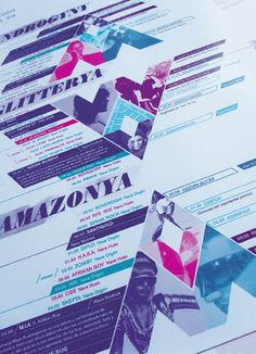 Festival Brochure & Billboard by Patricio Murphy, via Behance