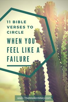 Do you ever feel like a failure? I think most of us do at times. I would encourage you to lean into Christ when you feel like a failure--and allow Him to fully heal those hurts so that you can move forward beyond the failure. #BibleVerse #Failure #Depression