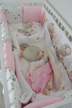 2 Pièces Set nursery Baby Bedding Set//Taie d/'oreiller//Housse de Couette Berceau//Lit//Lit bébé