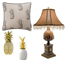 """""""Perfect Pineapple"""" by serendipityhome on Polyvore featuring interior, interiors, interior design, home, home decor, interior decorating, Ananas, Estée Lauder and Bloomingville"""
