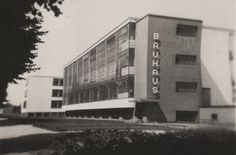 Bauhaus School -- German school that combined fine arts, design, and architectural elements in its teaching approach. It ran from 1919 to 1933, and the Bauhaus style was very influential for modern architectural design.  In German, Bauhaus means 'house of construction'.