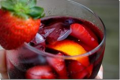 The Best Sangria Ever is a classic recipe, with just enough sweetness. Make a double or triple batch - it goes quick! | iowagirleats.com