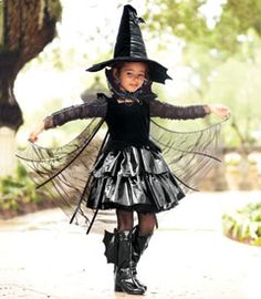 Bat Witch Costume